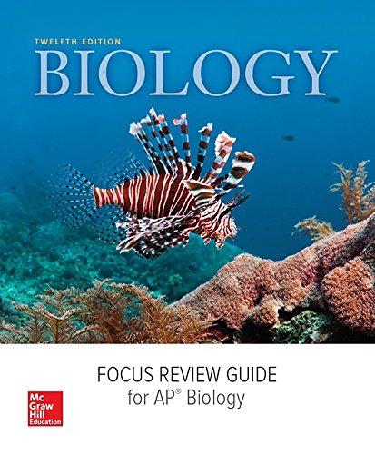 9780076721528: Mader, Ap Focus Review Guide (Ap Biology - Mader)