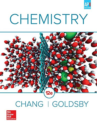 9780076727704 Chang Chemistry 2016 12e Ap Student Edition Ap