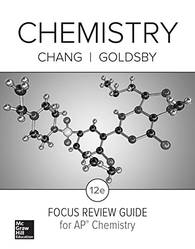 9780076728039: Chang, Chemistry © 2016, 12e, AP Focus Review Guide (AP CHEMISTRY CHANG)