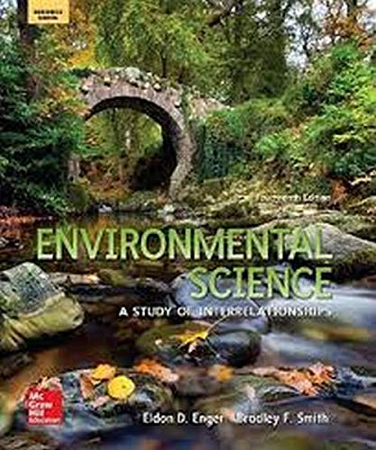 9780076732623: Enger, Environmental Science © 2016, 14e (Reinforced Binding) Student Edition (A/P ENVIRONMENTAL SCIENCE)