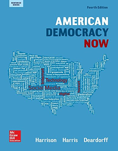 9780076762972: Harrison, American Democracy Now, Reinforced Binding (AP AMERICAN DEMOCRACY (US GOVERNMENT))