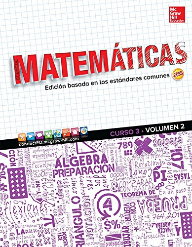 9780076778232: Glencoe Math, Course 3, Volume 2, Spanish Student Edition (MATH APPLIC & CONN CRSE) (Spanish Edition)