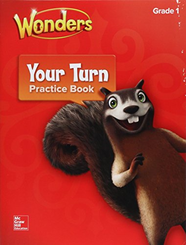 9780076787128: Wonders, Your Turn Practice Book, Grade 1 (ELEMENTARY CORE READING)