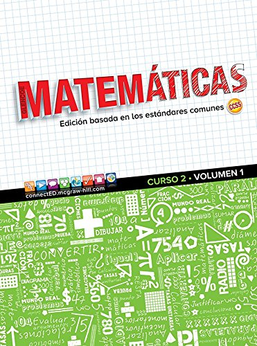 9780076790128: Glencoe Math, Course 2, Volume 1, Spanish Student Edition (MATH APPLIC & CONN CRSE) (Spanish Edition)