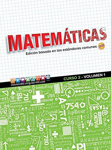 9780076790128: Glencoe Math, Course 2, Volume 1, Spanish Student Edition (MATH APPLIC & CONN CRSE) (Spanish Edition)