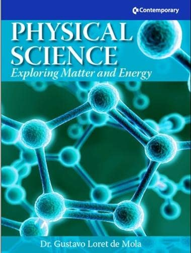 9780077041397: Physical Science: Exploring Matter and Energy - Hardcover Student Text with CD-ROM
