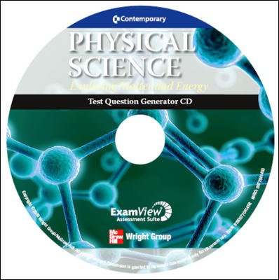 9780077041458: Test Question Generator (Contemporary: Physical Science: Exploring Matter and Energy)