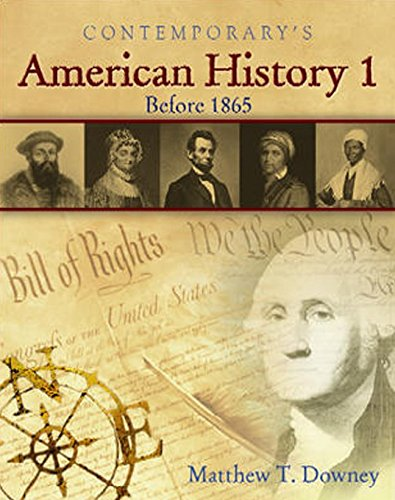 American History 1 (Before 1865) - Softcover: Matthew Downey