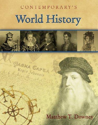 9780077044473: Contemporary's World History
