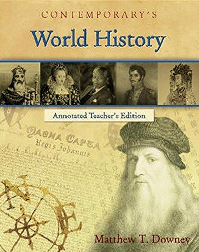 9780077044503: World History (Annotated Teacher's Edition)