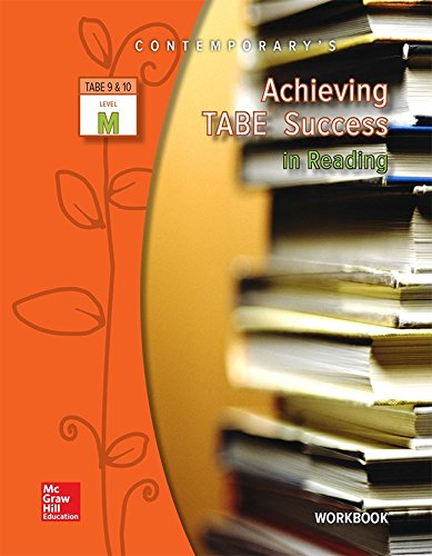 9780077044602: Achieving TABE Success in Reading, TABE 9 & 10 Level M - Workbook