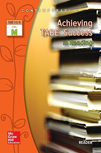 9780077044640: Achieving TABE Success in Reading, TABE 9 & 10 Level M - Reader
