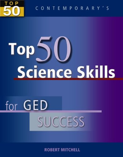 9780077044756: Top 50 Science Skills for GED Success, Student Text Only (GED Calculators)