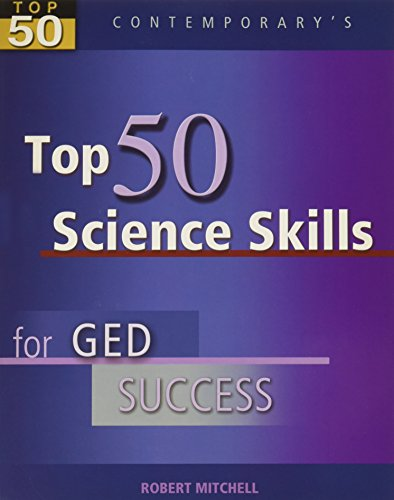 9780077044763: Top 50 Science Skills for GED Success, Student Text with CD-ROM (GED Calculators)