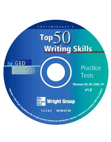 9780077044800: Top 50 Writing Skills for GED Success, CD-ROM Only