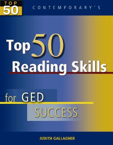 9780077044817: Top 50 Reading Skills for GED Success, Student Text Only (GED Calculators)