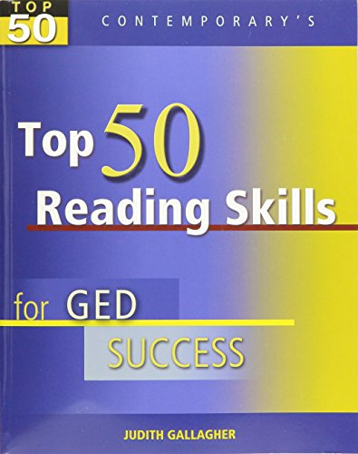 9780077044824: Top 50 Reading Skills for Ged Success