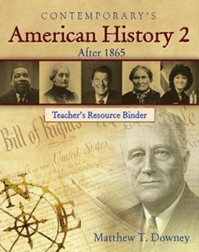 American History 2 (After 1865) (American History II) (0077044932) by Matthew T. Downey