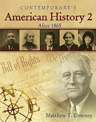 American History 2 (After 1865), Hardcover Student Edition with CD-ROM (American History II): ...