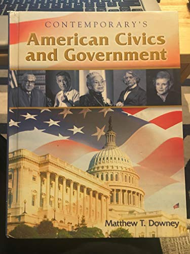 9780077045234: American Civics and Government, Hardcover Student Edition Only (Economics)