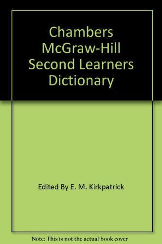 9780077070014: Chambers McGraw-Hill Second Learners