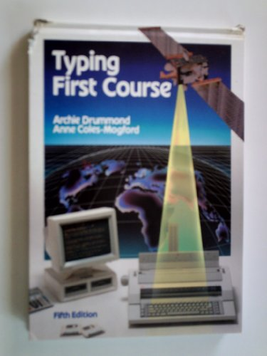 9780077070359: Typing First Course