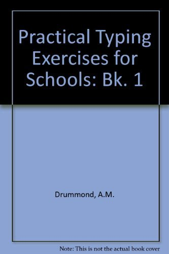 9780077070403: Practical Typing Exercises, Book One (Bk. 1)