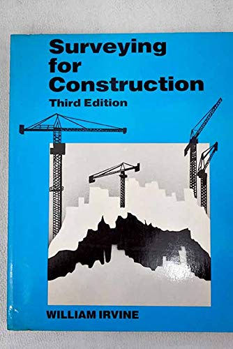 Surveying for Construction (0077070410) by William Irvine