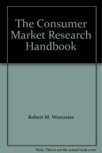 9780077070755: Consumer Market Research Handbook