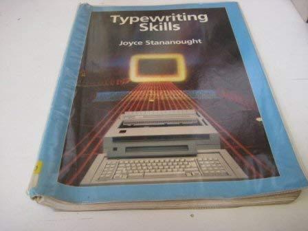 9780077071028: Typewriting Skills