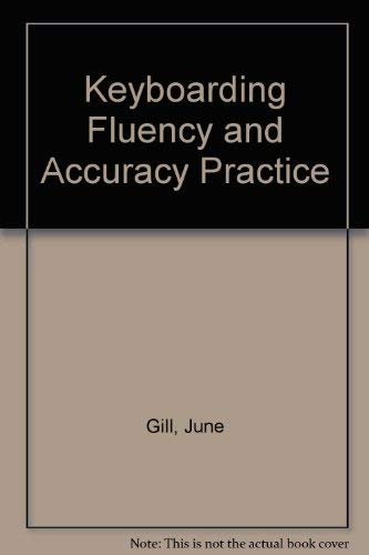 9780077071042: Keyboarding Fluency and Accuracy Practice