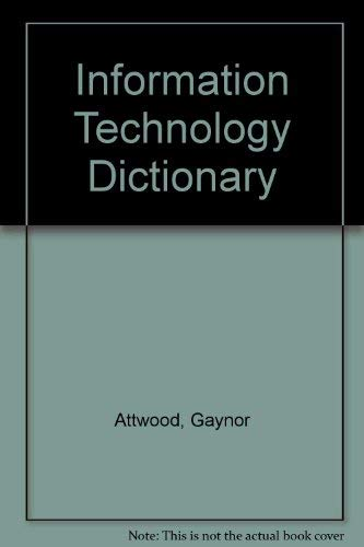 9780077071493: Information Technology Dictionary