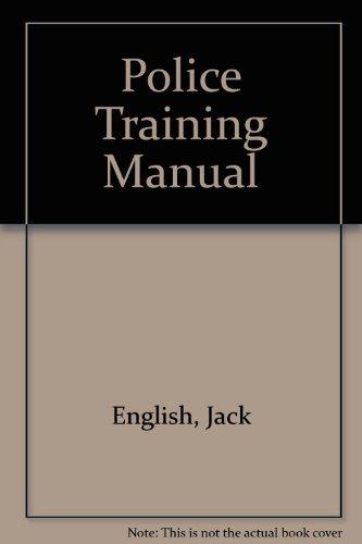 9780077071653: Police Training Manual
