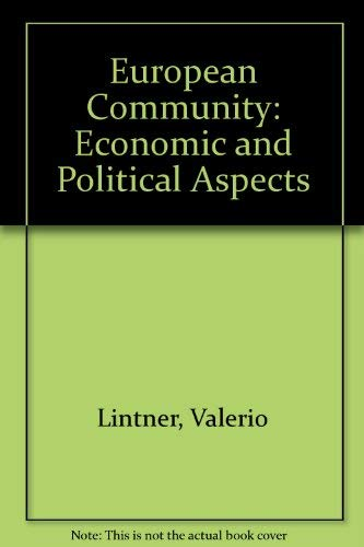 9780077072315: European Community: Economic and Political Aspects