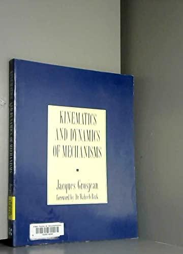 9780077072421: Kinematics and Dynamics of Mechanisms