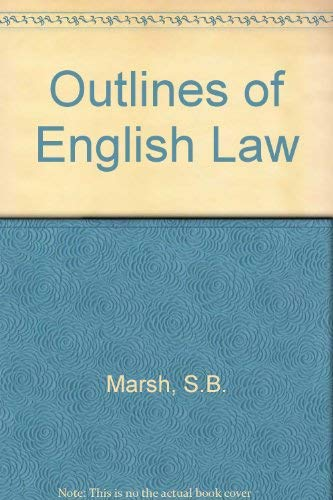 9780077072858: Outlines of English Law