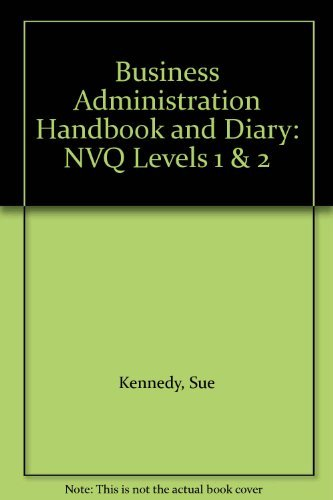 9780077072995: Business Administration Handbook and Diary: NVQ Levels 1 & 2