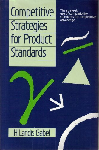 9780077073152: Competitive Strategies for Product Standards