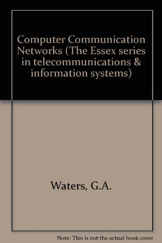 9780077073251: Computer Communication Networks (Essex Series in Telecommunication and Information Systems)
