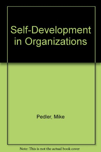 9780077073329: Self-Development in Organizations