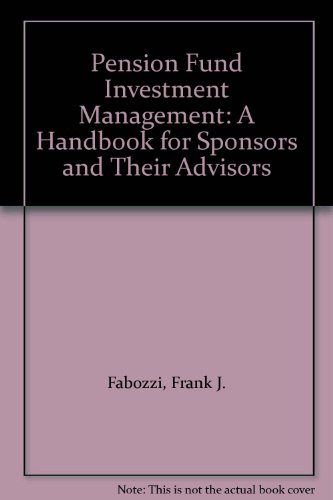 9780077073640: Pension Fund Investment Management: A Handbook for Sponsors and Their Advisors