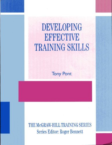 9780077073831: Developing Effective Training Skills (The Mcgraw-Hill Training Series)