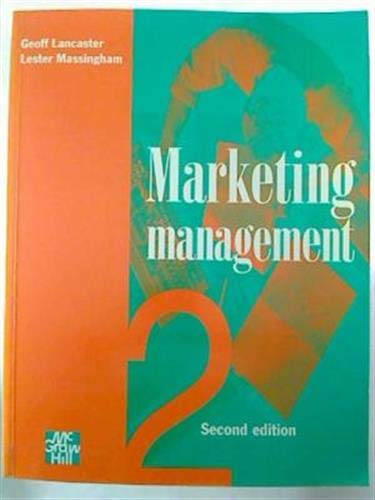 9780077074203: Marketing Management