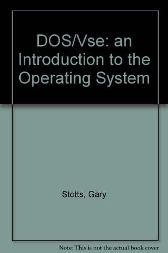 9780077074579: DOS/Vse: an Introduction to the Operating System