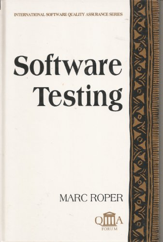 9780077074661: Software Testing (The Mcgraw Hill International Software Quality Assurance)