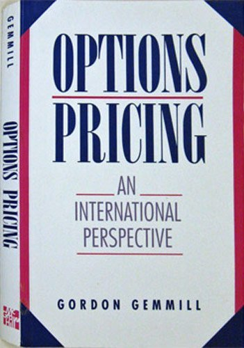9780077074975: Options Pricing: An International Perspective