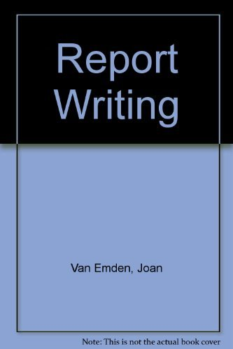 9780077076061: Report Writing