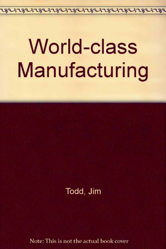 9780077076238: World-Class Manufacturing
