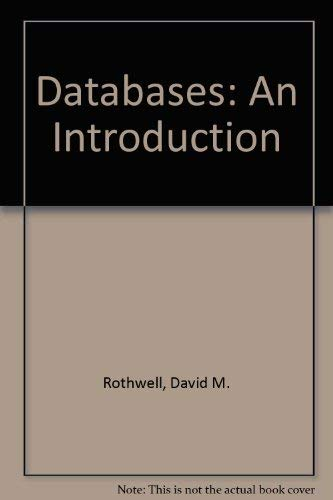 9780077077037: Databases: An Introduction