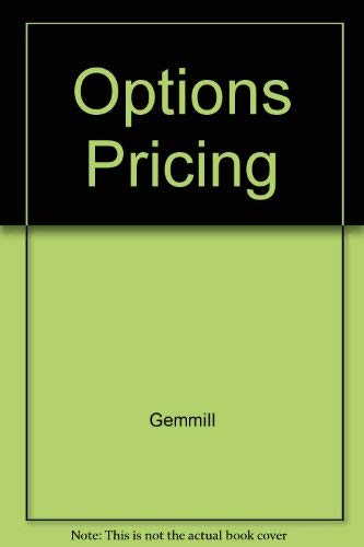 9780077077549: Options Pricing